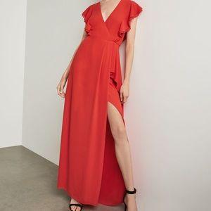 Callie Ruffled Dress